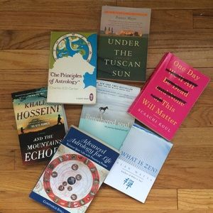 Accessories - Summer Novels, Meditation and Astrology Books